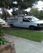 Whittier, CA - Preventive maintenance on a Bryant air conditioner and furnace.