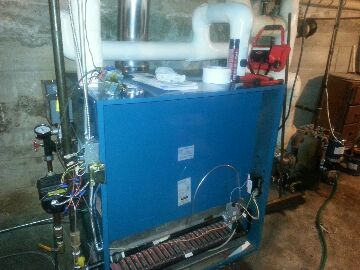 replace steam boiler