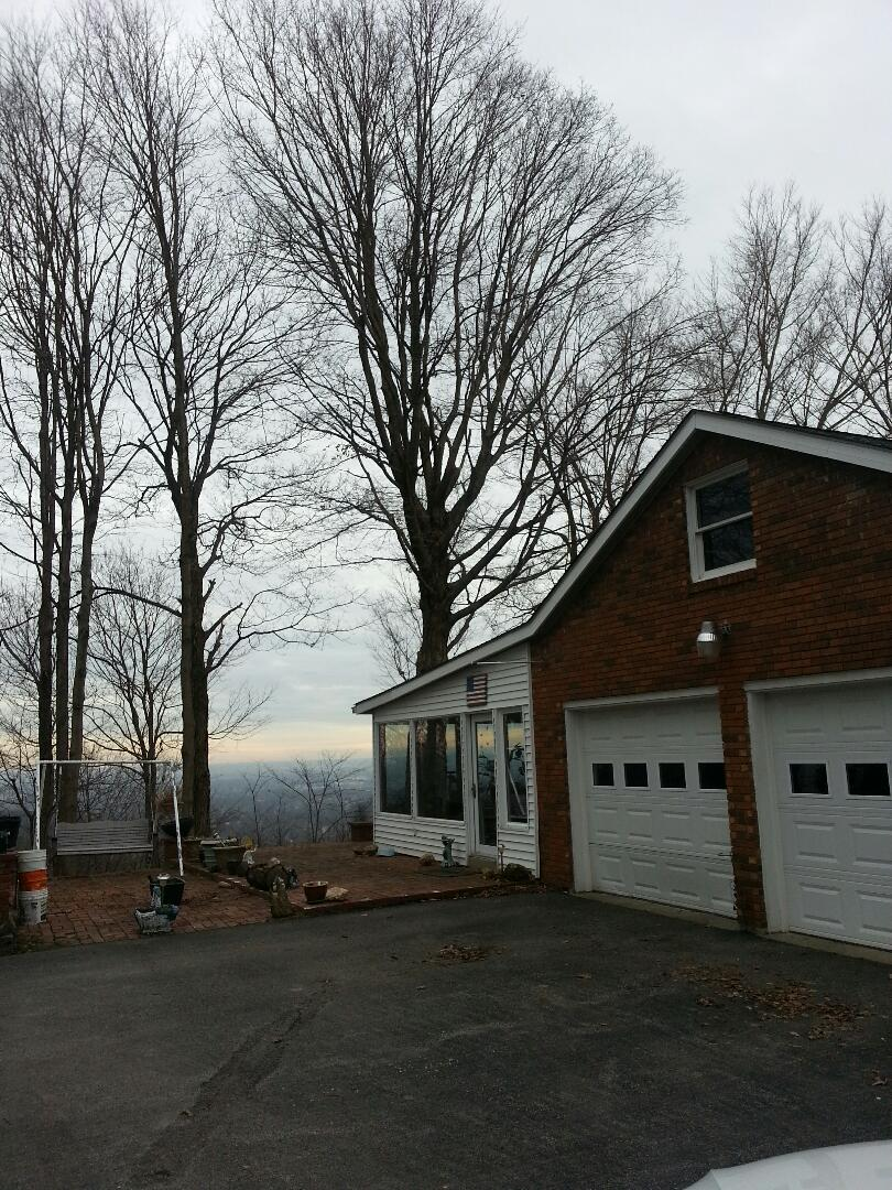 Floyds Knobs, IN - This homeowner is looking to convert a sliding glass door to a single door and window