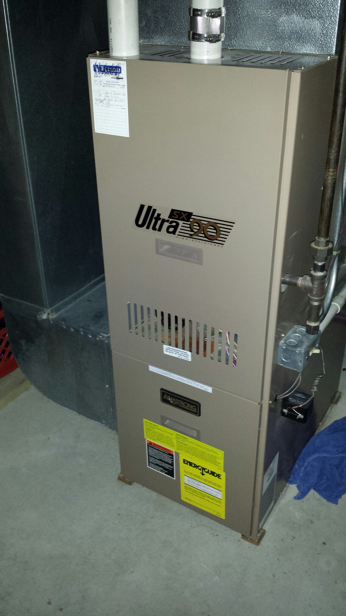 Charlotte, MI - Clean and check furnace and humidifier.