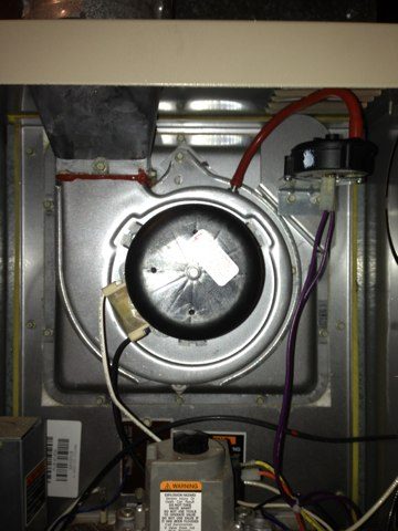 Delta, MI - Replace Inducer Motor