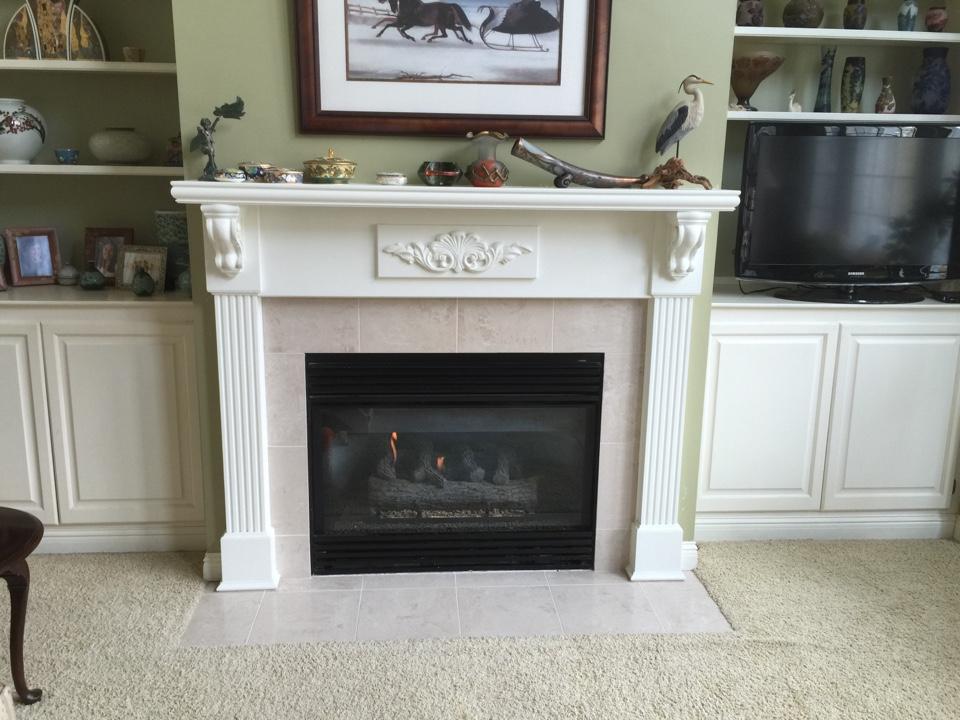 Delhi charter Township, MI - Fireplace repair.