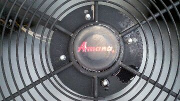 Haslett, MI - Amana air conditioner & furnace maintenance tune up service call.