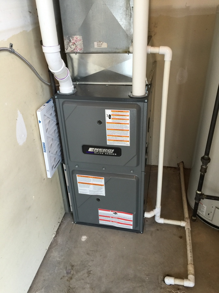 Mason, MI - New Furnace in Condo in Mason