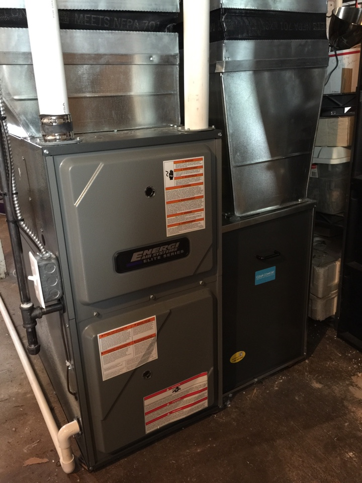 Meridian charter Township, MI - Replacing improperly sized furnace