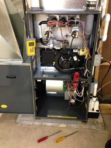Delta, MI - Amana furnace repair and maintenance cleaning