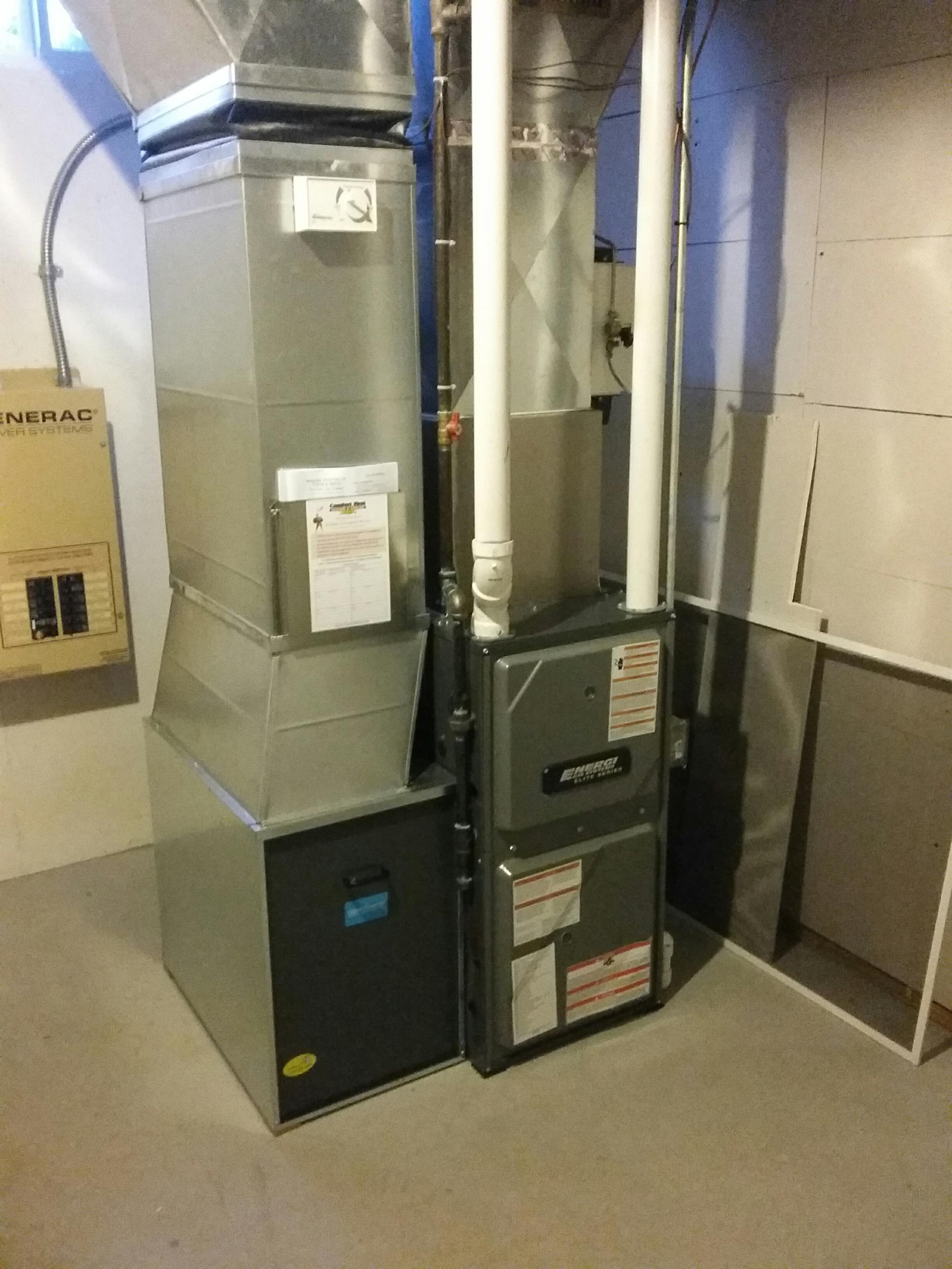 Grand Ledge, MI - Furnace installation