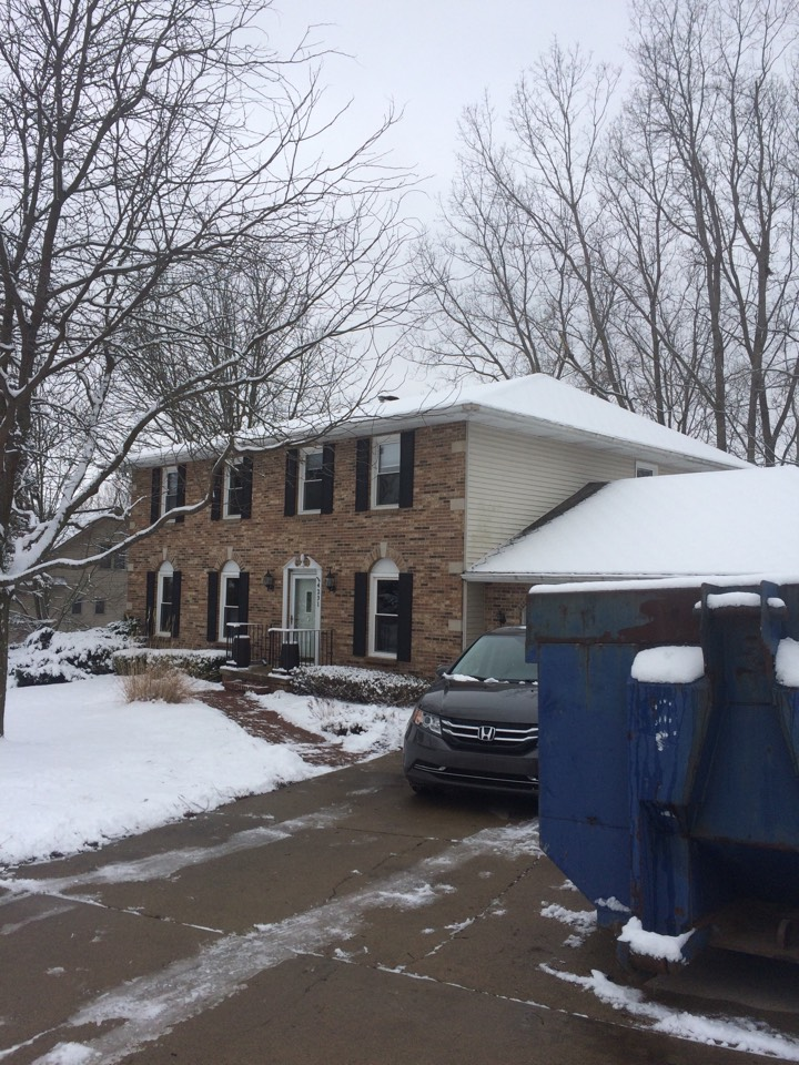 Meridian charter Township, MI - Insulation and air sealing for the new owners of this beautiful home
