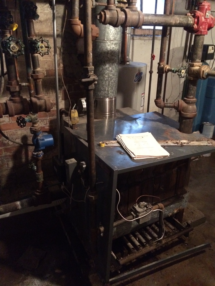 Grand Ledge, MI - Replacing 30+ year old boiler with new modulating 96% efficient Knight Boiler