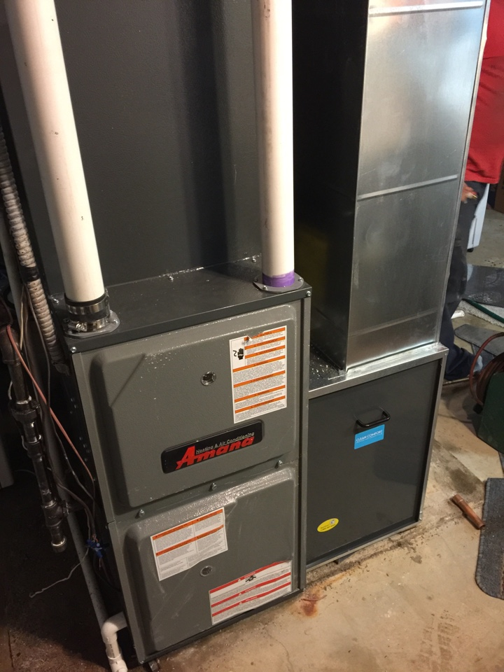 Windsor charter Township, MI - Upgrading furnace and heat pump repair