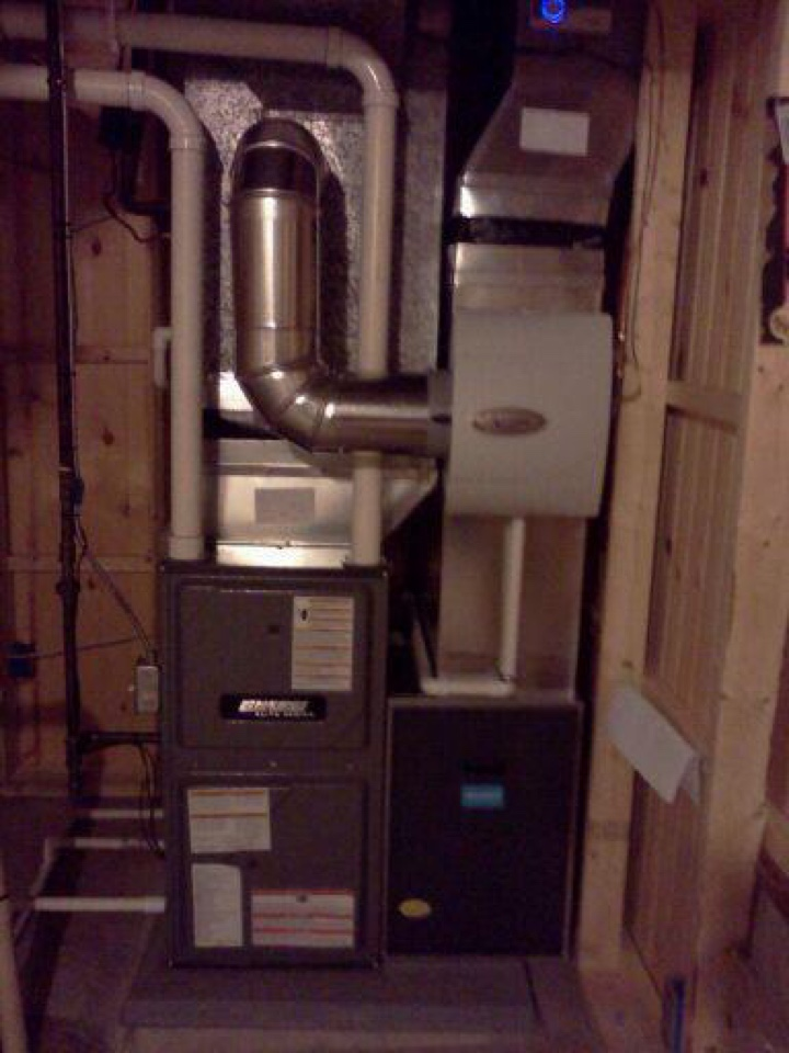 Windsor charter Township, MI - Replaced old furnace