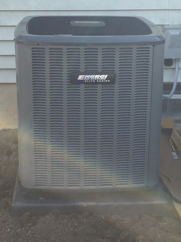 Delhi charter Township, MI - New Furnace and AC.