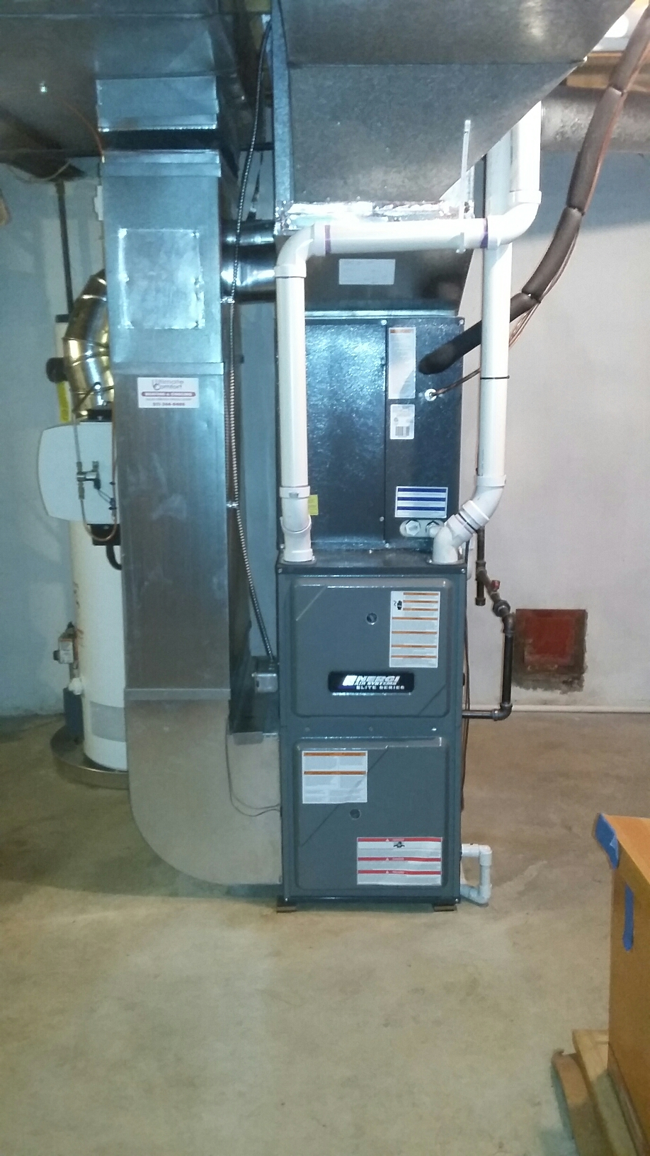 Delhi charter Township, MI - Furnace and air conditioner replacement