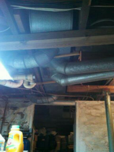 Perry, MI - duct modifications