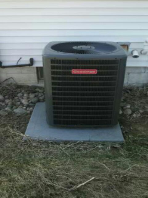 Laingsburg, MI - Goodman heat pump