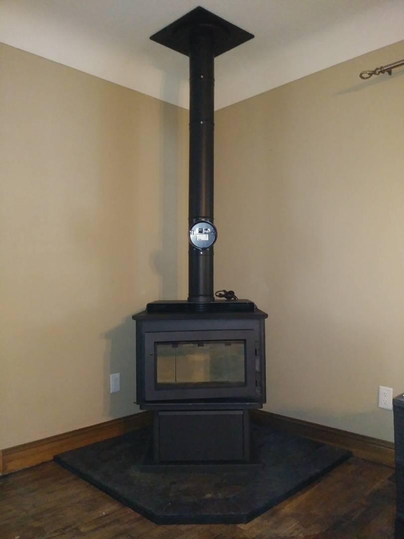 Eaton Rapids, MI - Regency fireplace installation
