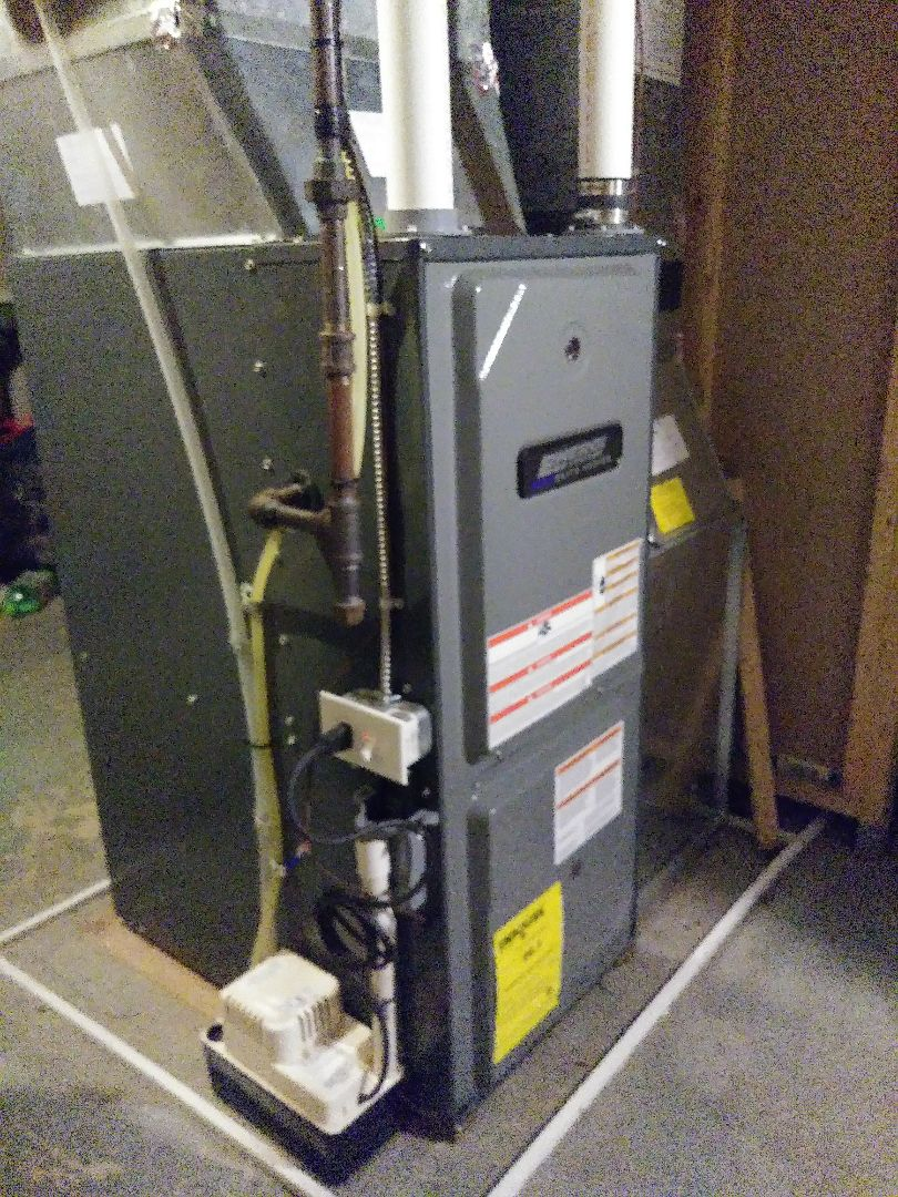 Delhi charter Township, MI - Energi Air Elite furnace service call to change the ignitor, control board, and inducer motor