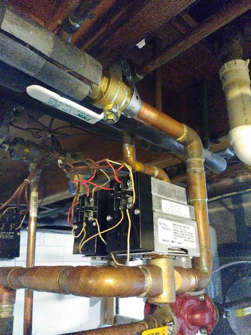 Lansing, MI - Installed new boiler zone valves.