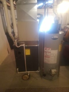 East Lansing, MI - Installing of furnace