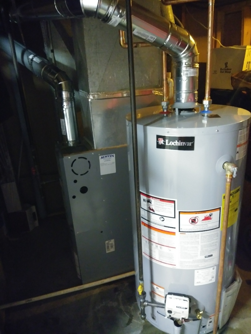 Lansing, MI - Lochinvar water heater installation