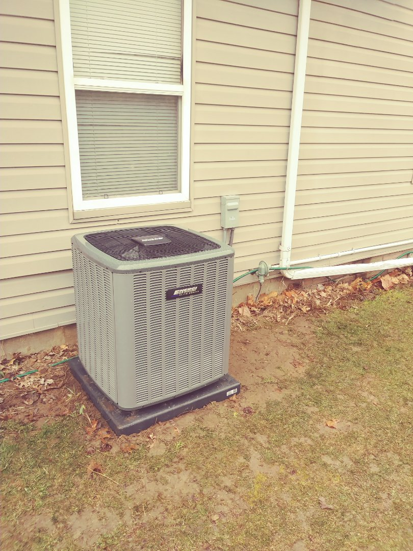 Laingsburg, MI - Air conditioner installation