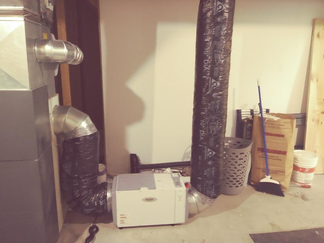 Mason, MI - Aprilaire Dehumidifier Installation