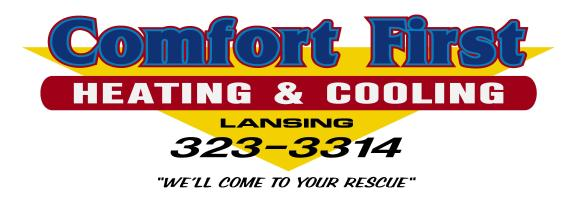 Comfort First Heating & Cooling, Inc.