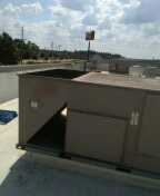 Longview, TX - Replaced fan motor on a condenser at Sonic in Longview Texas.
