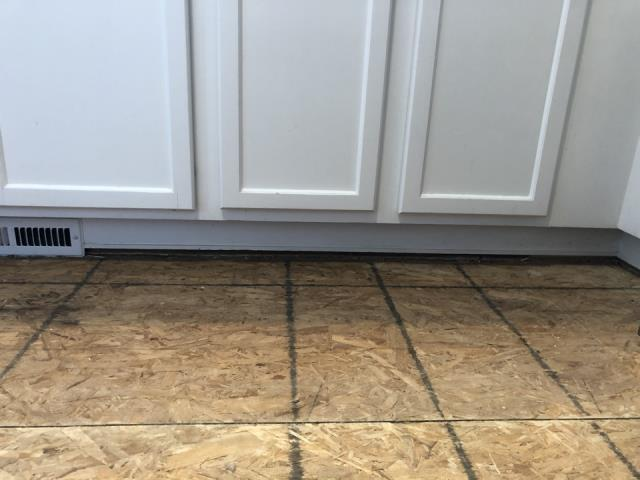 Grand Rapids, MI - Onsite review of water damage. Carpet and laminate floor replacement. Plumbing issue.