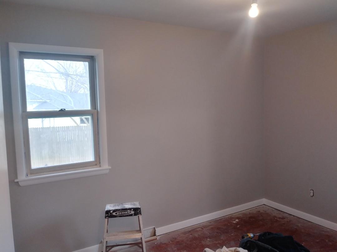 Walker, MI - Got the bedrooms painted today !