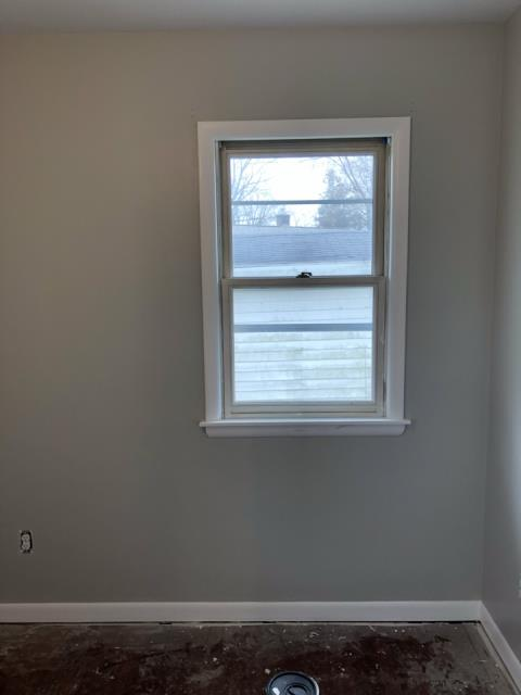 Grand Rapids, MI - Finished job from the fire damaged wall.