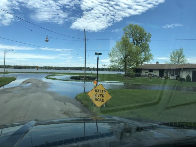 Grand Rapids, MI - Large flood. Homes in the area getting a lot of water damage.