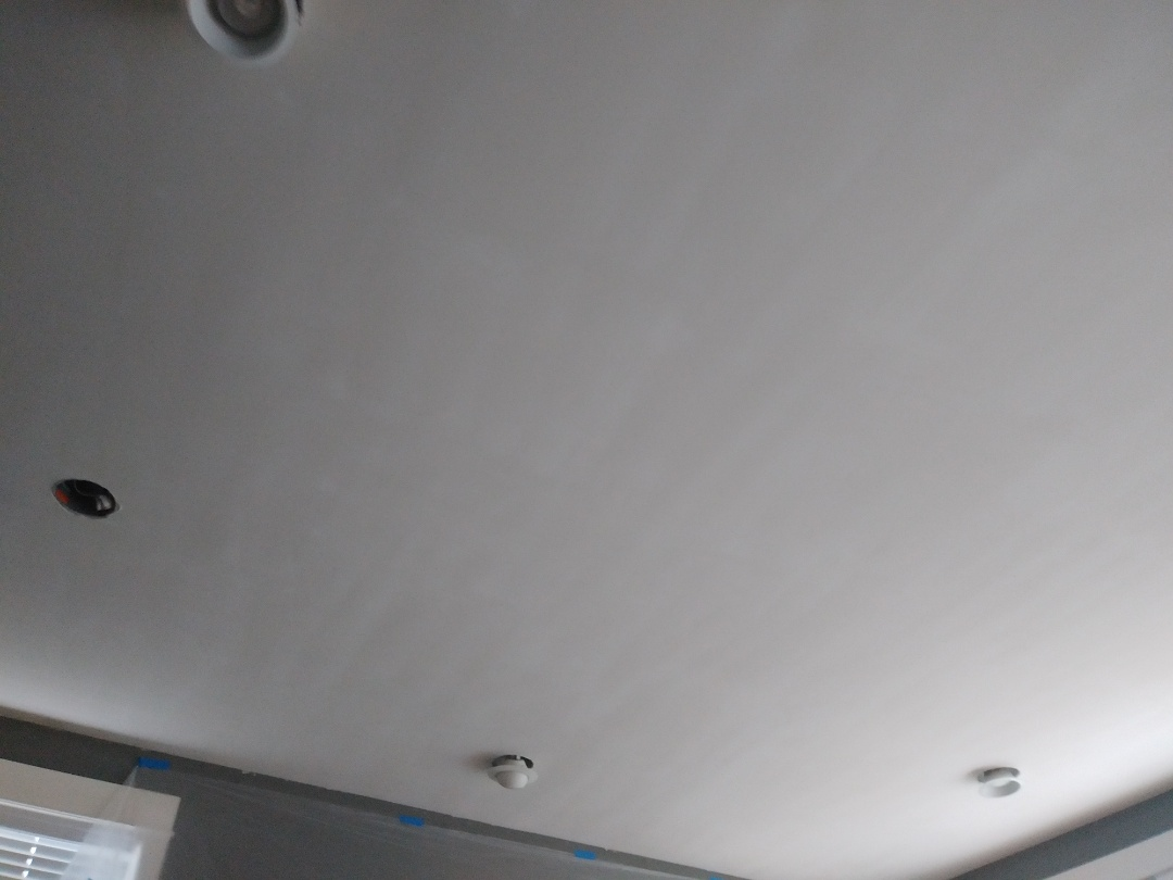 Grand Rapids, MI - Skim coated ceiling to cover existing texture