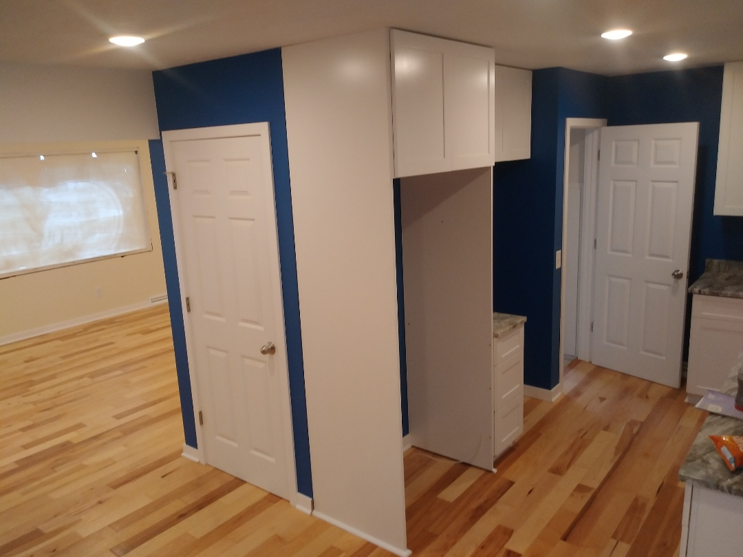 Walker, MI - Almost fully complete. New drywall. New trim. New cabinets new floor new bathroom