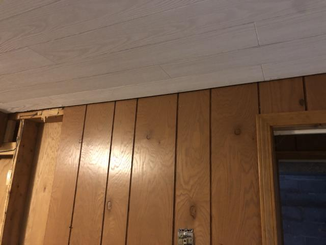 Grand Rapids, MI - Water restoration project from tub overflow. Damage to paneling and floor covering carpet.