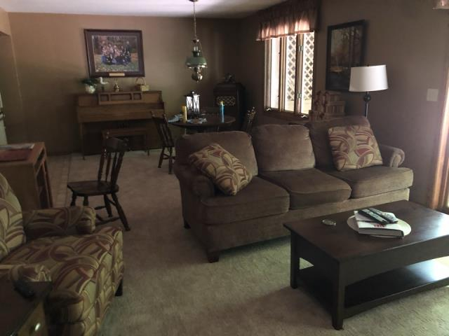 Grand Rapids, MI - New carpet replacement in basement recreation room. Water damage from toilet overflow.