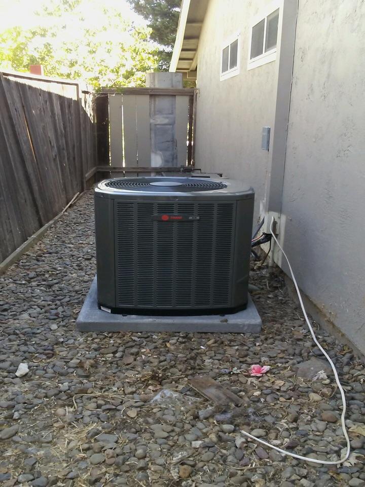 Concord, CA - HVAC service call to repair Air Conditioner.