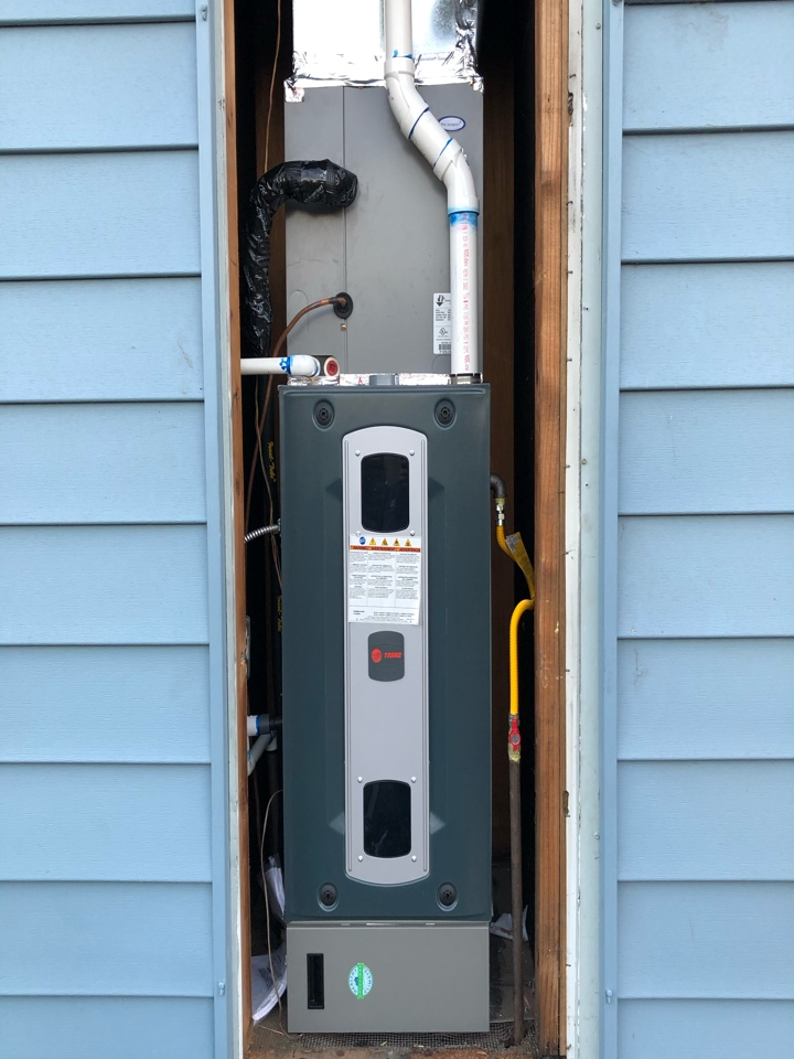Benicia, CA - Installed a new Furnace and Air Conditioner with filtration!