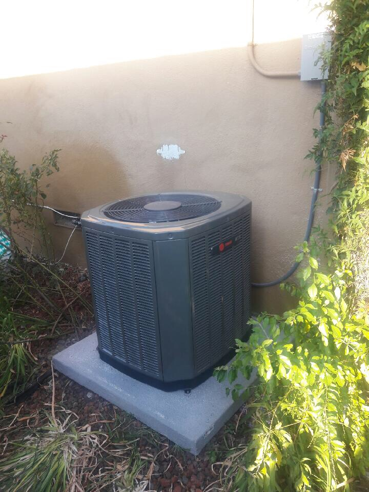 Benicia, CA - Replace HVAC system with new Trane furnace and Added a new Trane Air Conditioner!