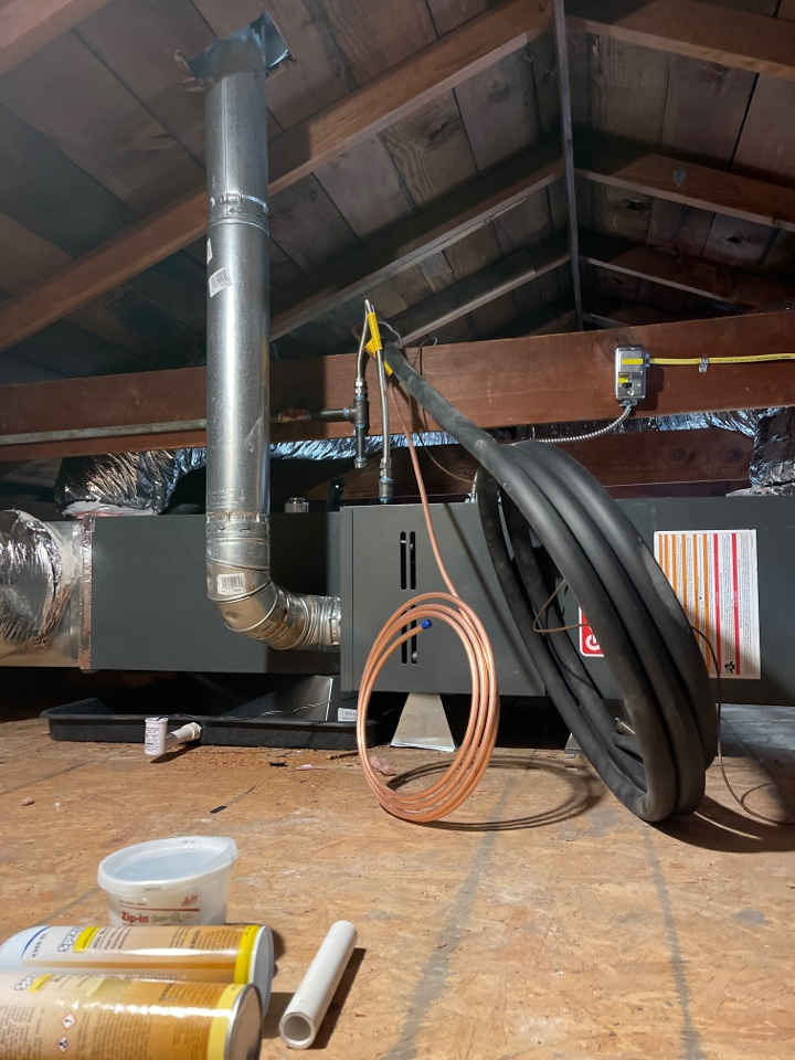 Benicia, CA - Installed furnace. HVAC Contractor, AC Repair, AC Installation, AC, Furnace Repair, Furnace Installation, Ductless Mini Splits