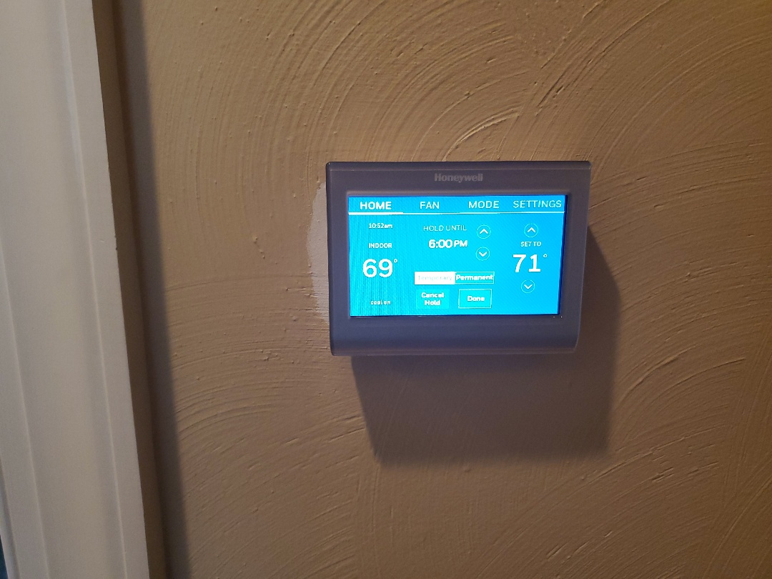 Daleville, VA - New thermostat
