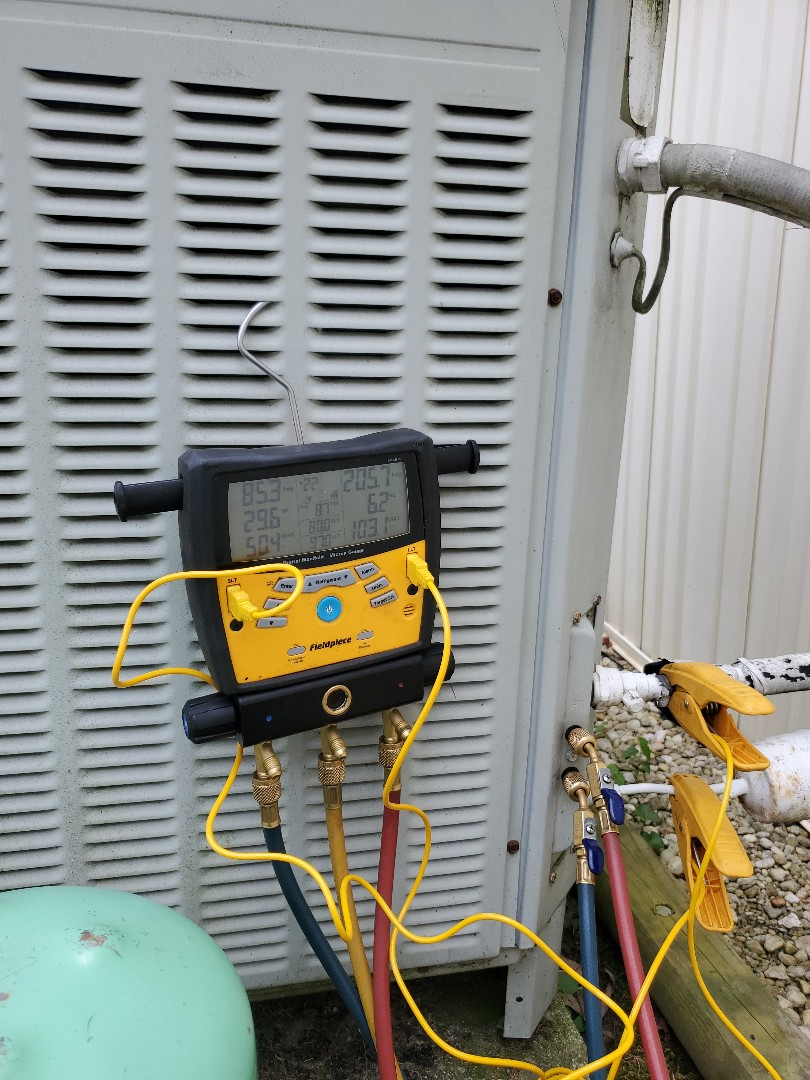 Salem, VA - Balancing refrigerant charge