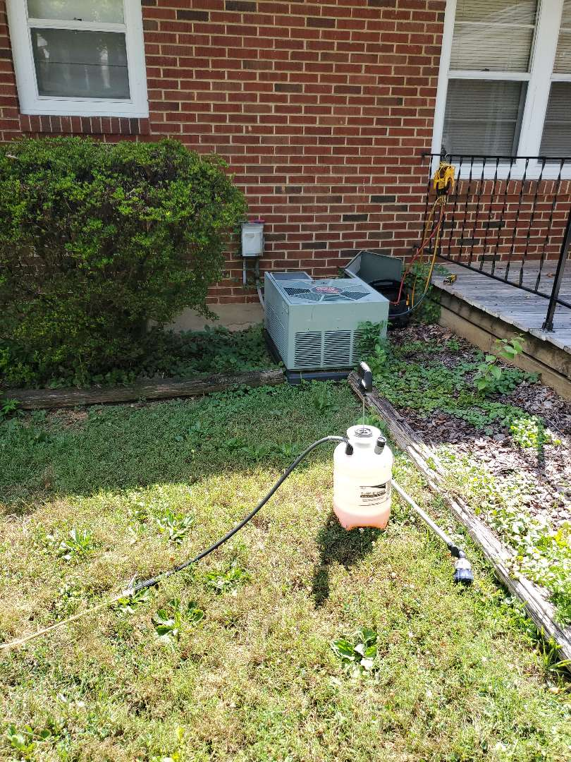 Hollins, VA - Coil cleaning