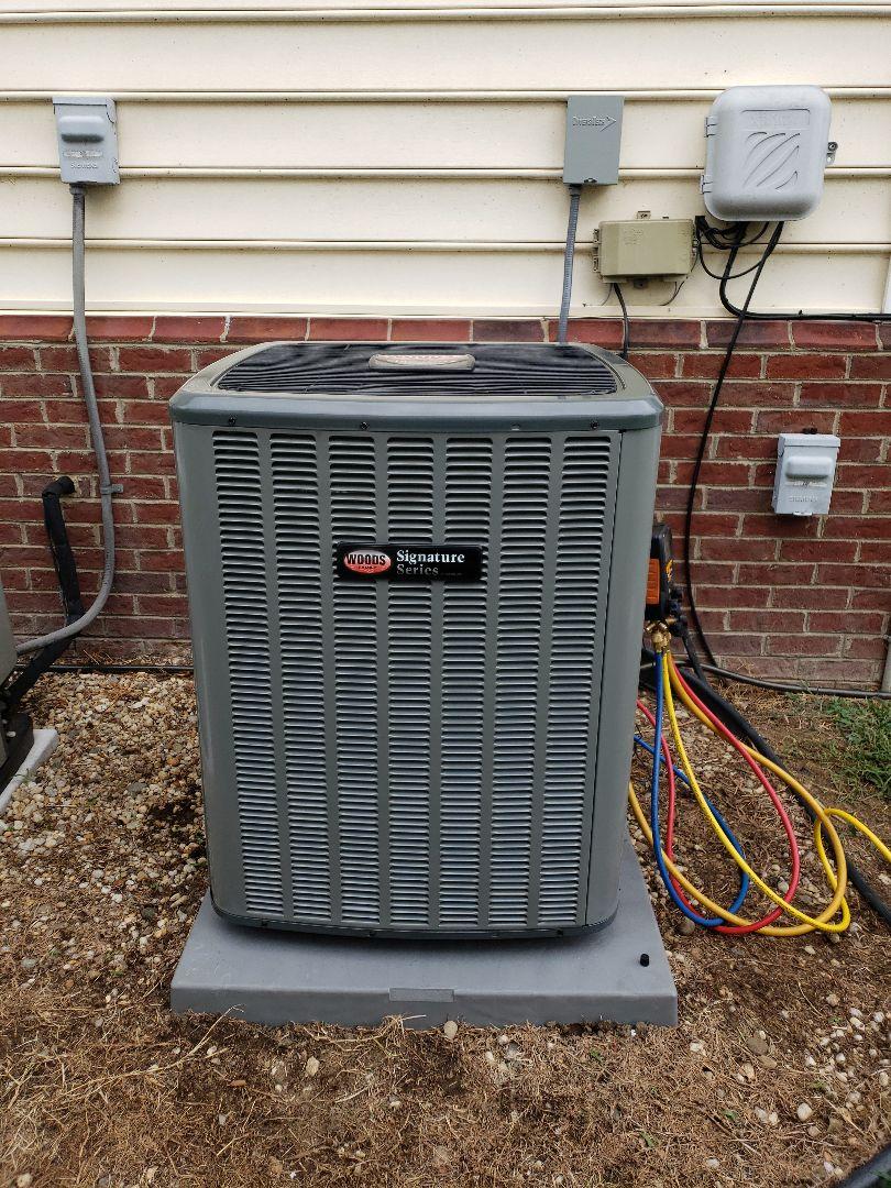 Salem, VA - Heat pump air handler change out