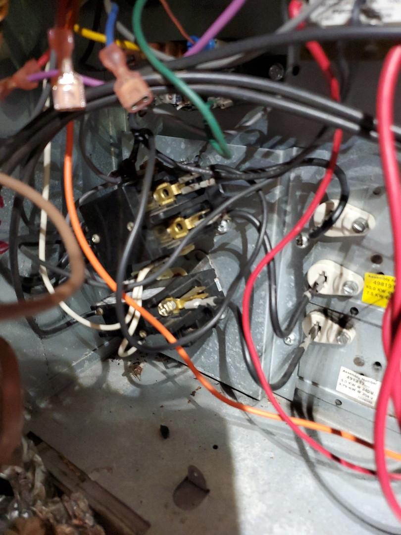 Salem, VA - Burnt wiring