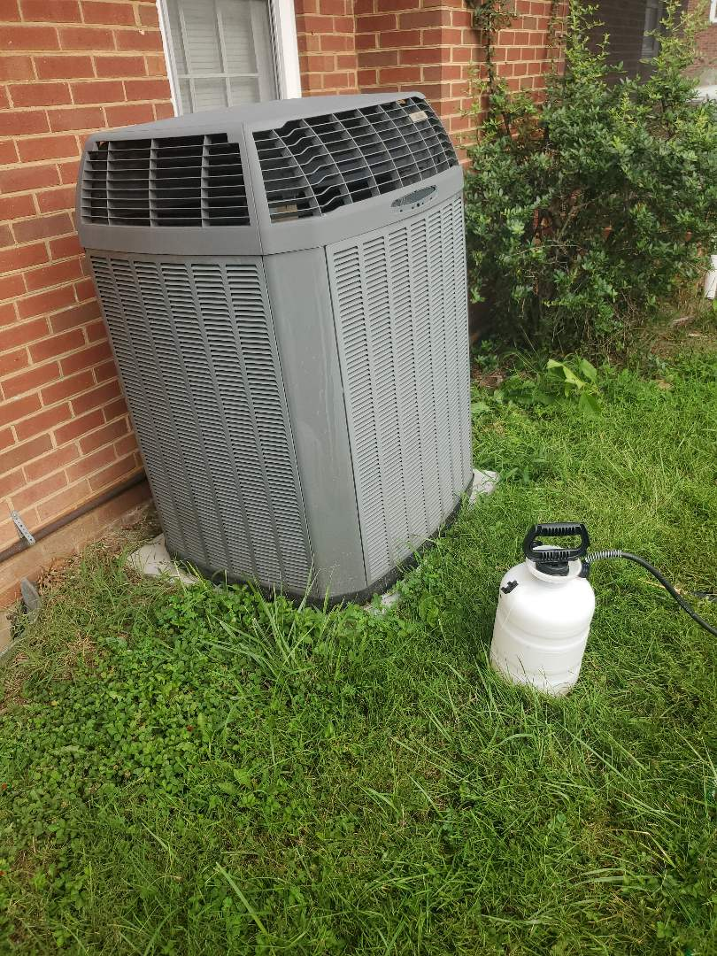 Daleville, VA - Coil cleaning