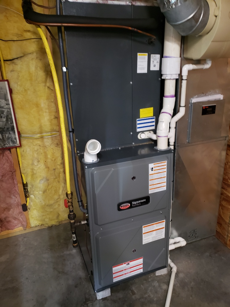 Hollins, VA - Gas furnace air condition