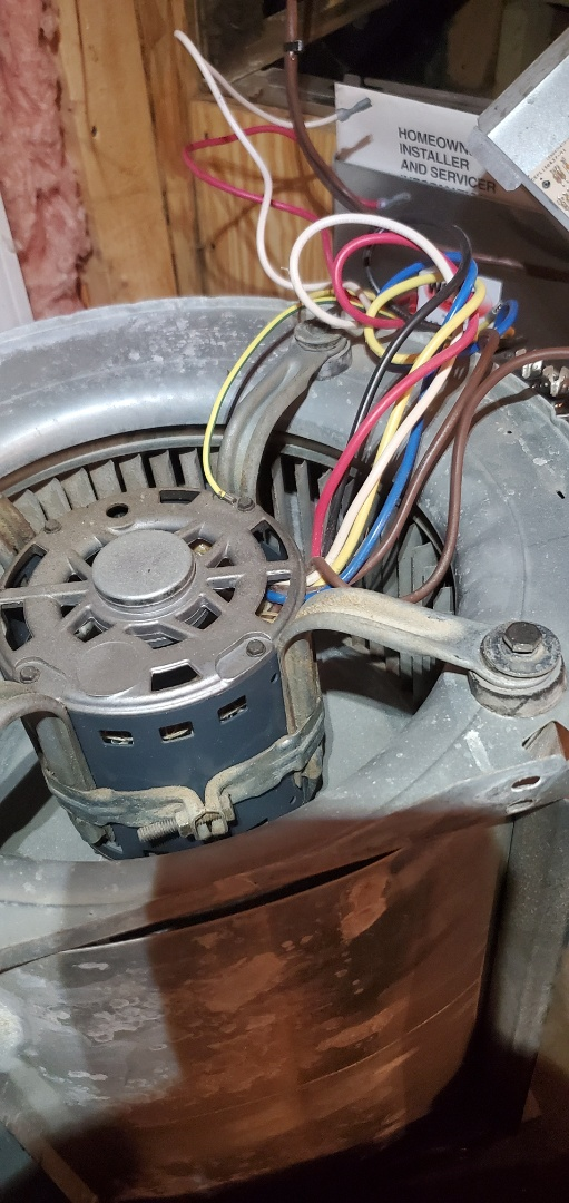 Eagle Rock, VA - Replaced blower motor