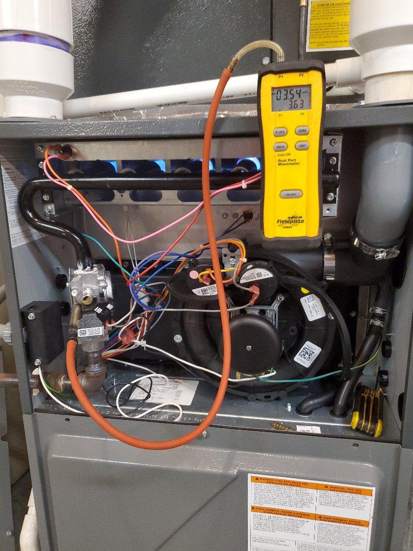 Daleville, VA - Adjusted gas psi