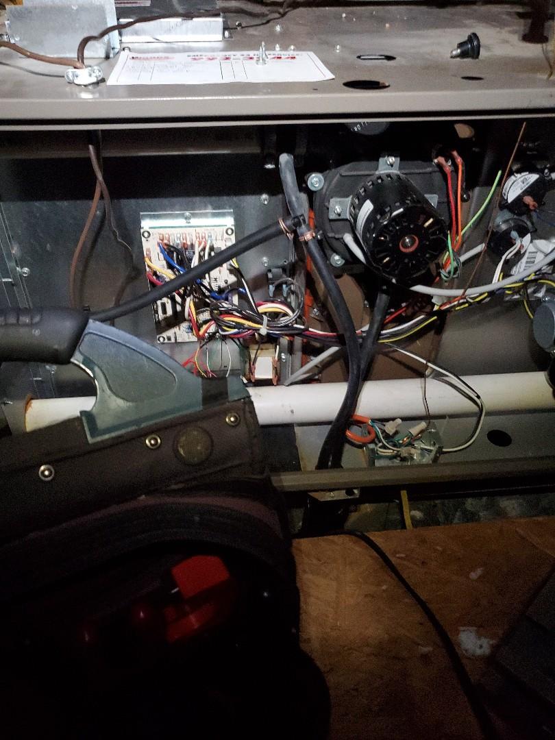 Roanoke, VA - Bad blower motor